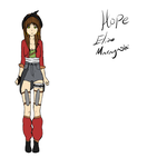 Hope Elise ref by Bitchy-Cakes