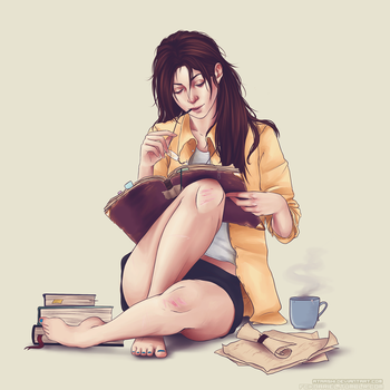 Hanji Zoe by goatrocket