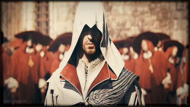 Assassin's Creed Brotherhood - Ezio Auditore by EiL17
