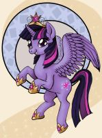 Princess Twilight by sleepyotter