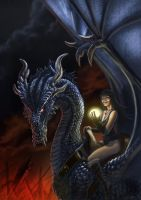 Dragon Rider by LDN-RDNT