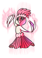 [COLLAB] Oricorio Pa'u Style by nuclear-smash
