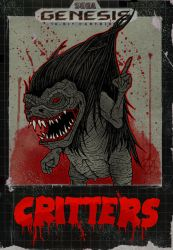 Critters the game by ayillustrations