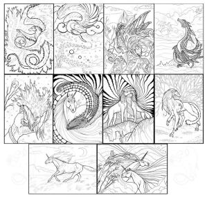 Linearts for sale by hontor