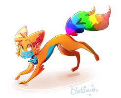 rainbow|at by Bluebiscuits