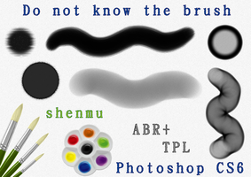 Do not know the brush(Photoshop CS6) by hong-hui-lin-shenmu