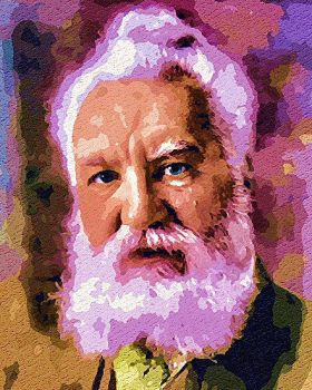 Alexander Graham Bell by peterpicture