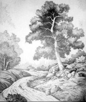 landscape in pencil by onlymade