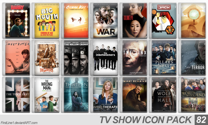 TV Show Icon Pack 82 by FirstLine1