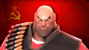Soviet Heavy is Angry by PrivateDumpy