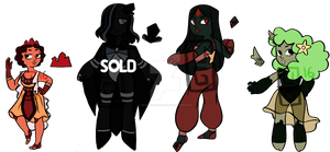 Chalcedony Adopts 2/4 OPEN by undercoverghost