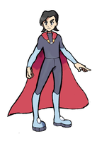 LENGENDARY TRAINER - Heroes Father - Ejder by AliodaDraws
