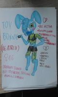 toy bonnie thing by Pink-Sanity