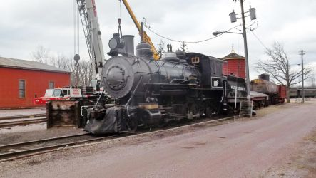 Saginaw Timber #2 down for the winter by PRR8157