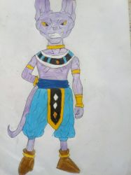 Beerus by TheOneAndOnlyCactus