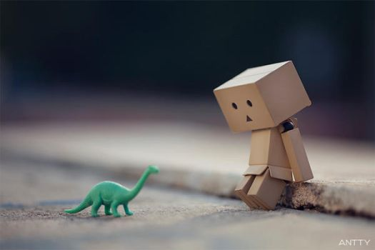 Whining To Unresponsive Dino by antontang