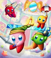 Kirby And The Amazing Mirror by Ini-Inayah