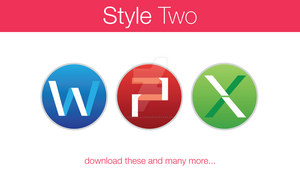 Office Icons Style Two by hamzasaleem
