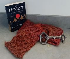 Smaug, Dragon Scarf - Inspired by The Hobbit by Nukaleu