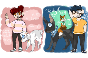 Dog Adopts [CLOSED] by OrangeJuicee