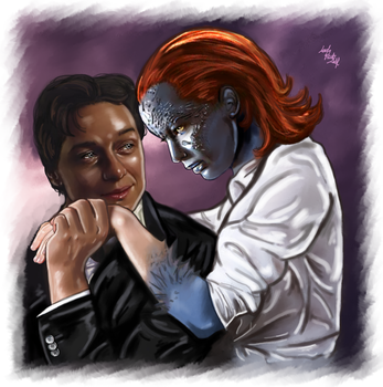 Charles, Raven - Your skin by LadyMintLeaf