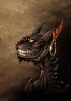 Alice madness returns - Cheshire Grin by LadyFiszi