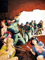 Nazis In For A Surprise by peterpulp