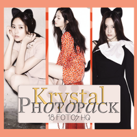 Photopack Krystal-f(x) 003 by DiamondPhotopacks