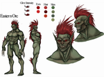Eastern Orc Reference Sheet by OnHolyServiceBound