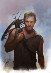 Daryl Dixon - The Walking Dead by Brilcrist
