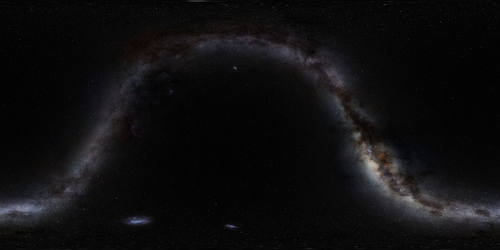 MilkyWay galaxy sphere map 8k by darth-biomech