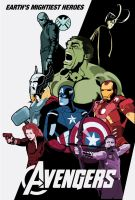 Avengers Movie Poster: Version 1 by Tim4