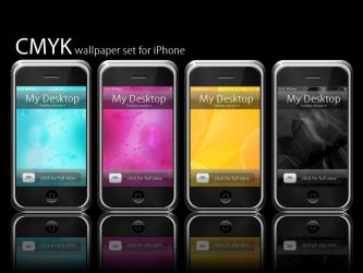 CMYK abstract WP by Pinkie75