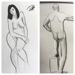 Life Drawing dump 4 by dhulteen