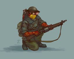Tunnel rat by Pyrosity