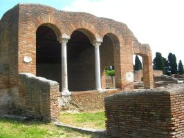 Room at Ostia by Syltorian