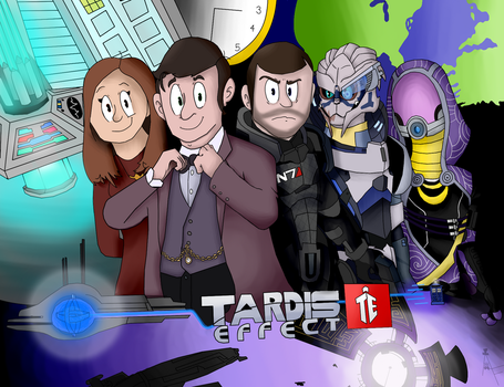 TARDIS Effect: 2017 Version by Oopoppy2