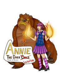 Print made for Artist Alley, J-popcon 2015 (Annie) by Vicingus