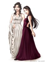 Ivory and Aubergine by MarvelPoison