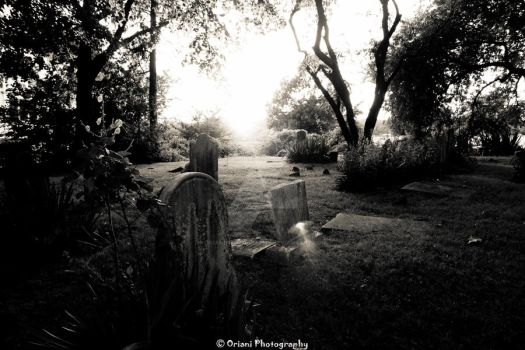 Cemetary by OrianiPhotography