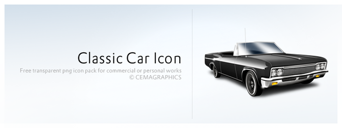 Classic Car Icon by cemagraphics