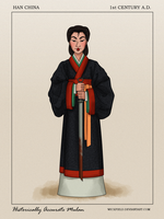Historically Accurate Mulan by Wickfield