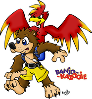 Banjo Kazooie by KrazyGal