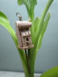 Bird house Pendant Friday by queencymae