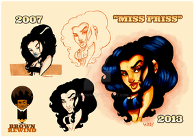 Miss Priss by WarBrown