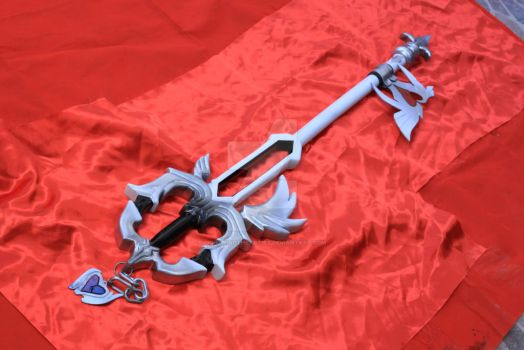 Lost Memory Keyblade from Kingdom Hearts by LightningTheArtist