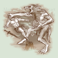 Werewolf Attacks by Alanzer-dna