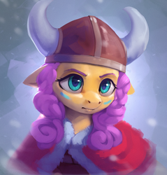 Viking Fluttershy by Rodrigues404