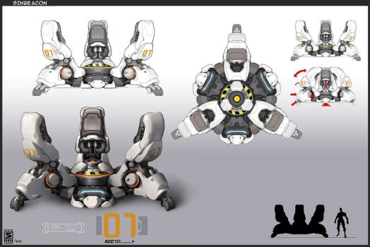 Firefall S.I.N. Beacon Concept by JayAxer
