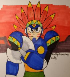 Wily Wednesdays 15: Tomahawk Man by Bsalg93